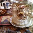 鳥かごの中はケーキ